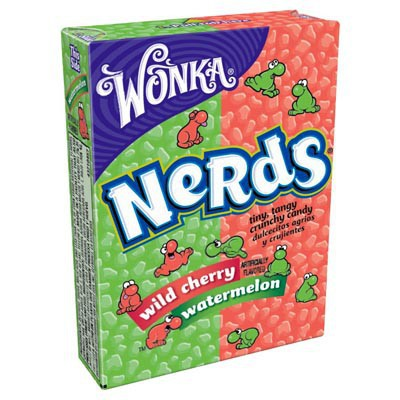WONKA NERDS WATERMELON-WILD CHERRY