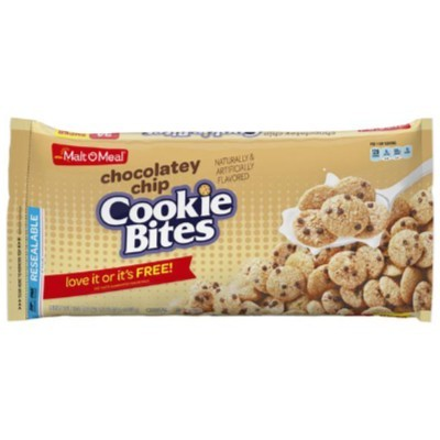 CLEARANCE - MALT O MEAL CHOCOLATEY CHIP COOKIE BITES CEREAL (SUPER SIZE)