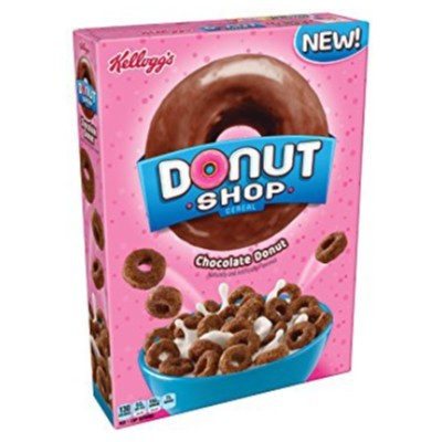 KELLOGG'S DONUT SHOP CHOCOLATE CEREAL