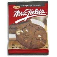 MRS FIELDS COOKIES WHITE FUDGE BROWNIE COOKIE