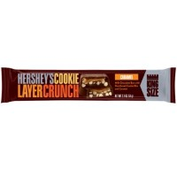 CLEARANCE - HERSHEY'S COOKIE LAYER CRUNCH CARAMEL KING SIZE BAR