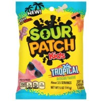 SOUR PATCH KIDS TROPICAL BONBONS ACIDULES