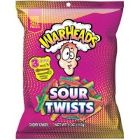 WARHEADS SOUR TWIST BONBONS ACIDULES