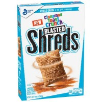 GENERAL MILLS BLASTED SHREDS CINNAMON TOAST CRUNCH CEREAL