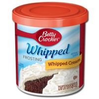 BETTY CROCKER FROSTING WHIPPED BUTTERCREAM
