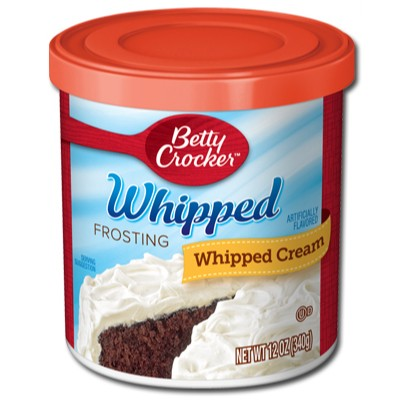 CLEARANCE - BETTY CROCKER FROSTING WHIPPED BUTTERCREAM