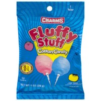 CHARMS FLUFFY STUFF BARBE A PAPA (PETIT SACHET)