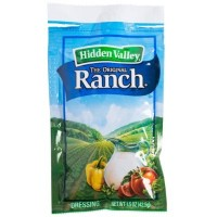 HIDDEN VALLEY RANCH SALAD DRESSING PORTION PACKET - BULK (84)