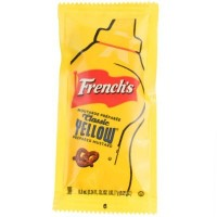 FRENCH'S YELLOW MUSTARD MOUTARDE JAUNE SACHET - VRAC (200)