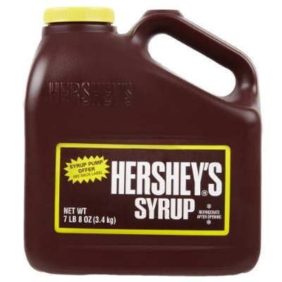 HERSHEY'S CHOCOLATE SYRUP BIG (LARGE)