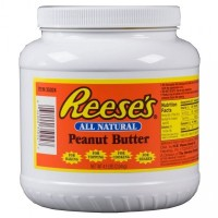 REESE'S ALL NATURAL PEANUT BUTTER (JAR)