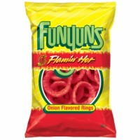 FUNYUNS FLAMIN HOT PATATASCHIPS (GRANDE)