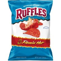 RUFFLES FLAMIN HOT CHIPS