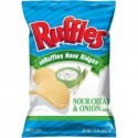RUFFLES CHIPS SOUR CREAM & ONION PATATAS CHIPS