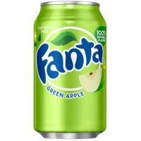 FANTA GREEN APPLE SODA MANZANA VERDE