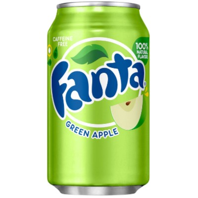 FANTA GREEN APPLE SODA