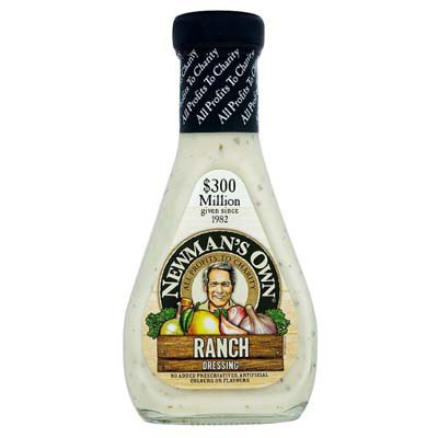 NEWMAN'S OWN RANCH SALAD DRESSING