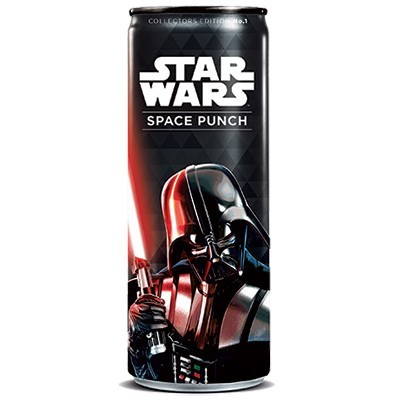 STAR WARS SPACE PUNCH DARK VADER SODA