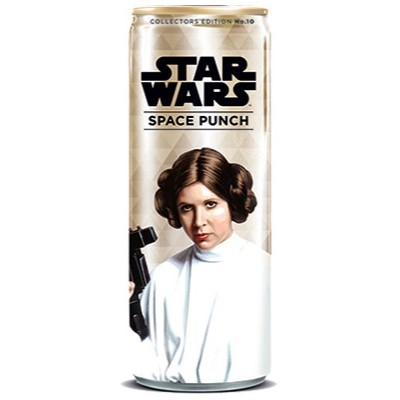 STAR WARS SPACE PUNCH PRINCESS LEIA SODA