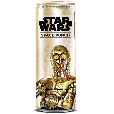 STAR WARS SPACE PUNCH C-3PO SODA