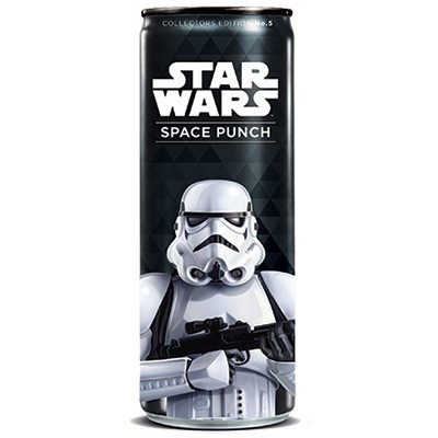 STAR WARS SPACE PUNCH STORMTROOPER SODA