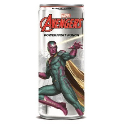 AVENGERS POWERFRUIT PUNCH LA VISION SODA