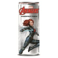 AVENGERS POWERFRUIT PUNCH BLACK WIDOW SODA