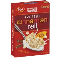 POST CEREALI SHREDDED WHEAT FROSTED CINNAMON ROLL