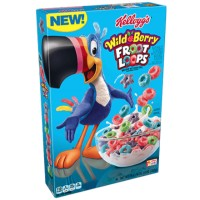 CLEARANCE - KELLOGG'S WILD BERRY FROOT LOOPS CEREAL
