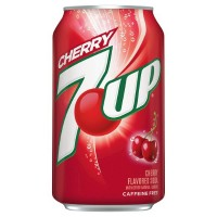 7-UP CHERRY SODA À LA CERISE