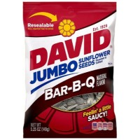 DAVID JUMBO SUNFLOWER SEEDS BBQ