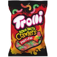 TROLLI SOUR BRITE CRAWLERS FRUIT & FIRE
