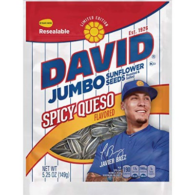 DAVID JUMBO SUNFLOWER SEEDS SPICY QUESO