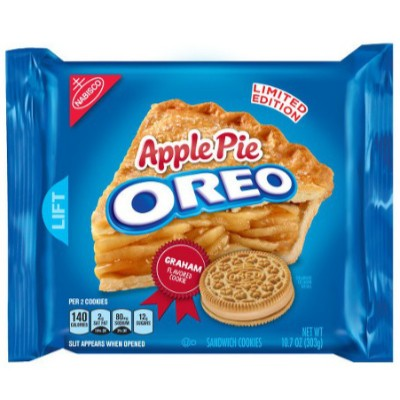 CLEARANCE - OREO APPLE PIE CREME SANDWICH COOKIES