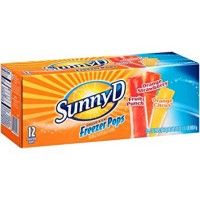 SUNNYD FREEZE POP GLACE A L'EAU MULTIFRUITS