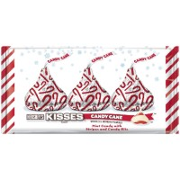 HERSHEY'S KISSE'S BOMBÓN CHOCOLATE SABOR CANDY CANE