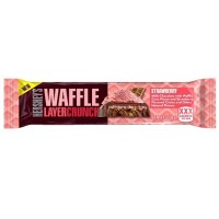 HERSHEY'S WAFFLE LAYER CRUNCH STRAWBERRY BAR