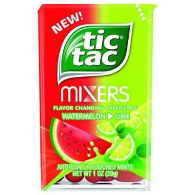CLEARANCE - TIC TAC MIXERS WATERMELON LIME