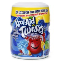 KOOL-AID ICE BLUE RASPBERRY LEMONADE SUGAR SWEETENED SOFT DRINK MIX