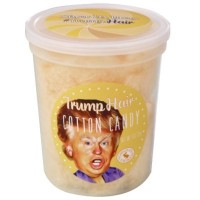 CHOCOLATE STORYBOOK TRUMP HAIR COTTON CANDY TUB