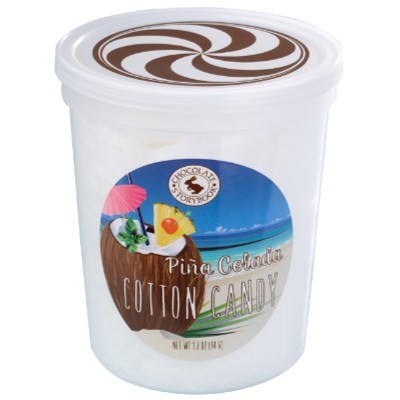 CLEARANCE - CHOCOLATE STORYBOOK PINA COLADA COTTON CANDY TUB