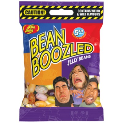 JELLY BELLY BEANS BEANBOOZLED BAG