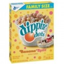 GENERAL MILLS DIPPIN DOTS BANANA SPLIT FLAVORED CEREAL