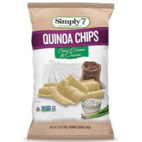 CLEARANCE - SIMPLY 7 SOUR CREAM & ONION QUINOA CHIPS