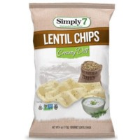CLEARANCE - SIMPLY 7 CREAM DILL LENTIL CHIPS