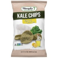 CLEARANCE - SIMPLY 7 LEMON & OLIVE OIL KALE CHIPS