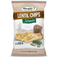 SIMPLY 7 PATATINE ALLE LENTICCHIE GUSTO PEPERONCINO JALAPEÑO