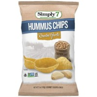 CLEARANCE - SIMPLY 7 ROASTED GARLIC HUMMUS CHIPS
