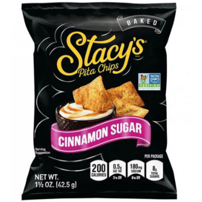 STACY'S® CINNAMON SUGAR FLAVORED PITA CHIPS