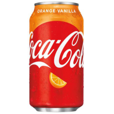 COCA-COLA ORANGE VANILLA SODA